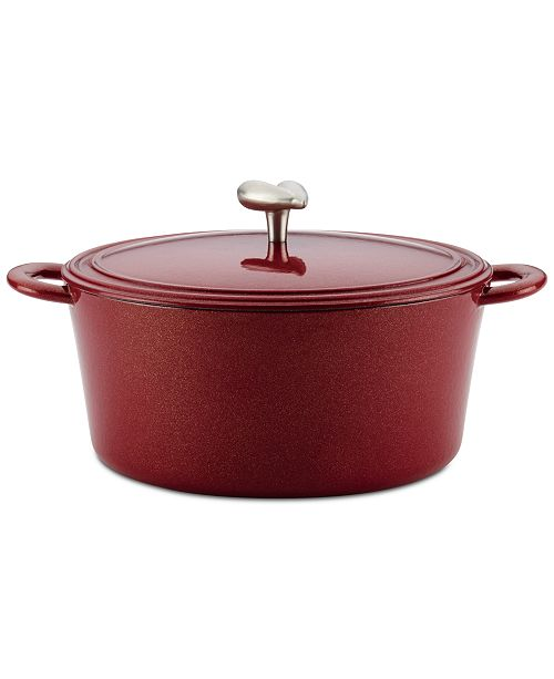 Ayesha Curry 6-Qt. Enameled Cast Iron Dutch Oven & Lid