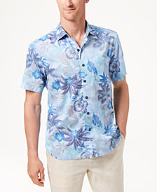 Tommy Bahama Men's Fuego Floral Knit Camp Shirt