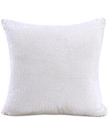 """Berkshire Bunnysoft 18"""" Square Faux-Fur Decorative Pillow"""