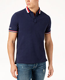Tommy Hilfiger Men's Custom Fit Logo Polo, Created for Macy's