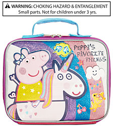 Peppa Pig Little & Big Girls Peppa's Favorite Things Insulated Lunch Bag