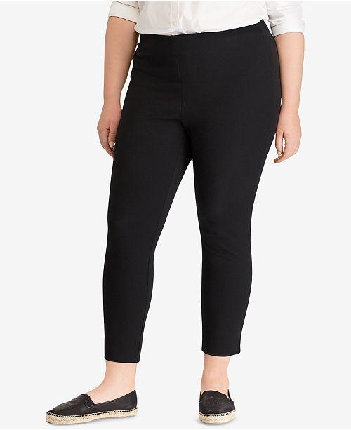 d55978a56eeb3 Lauren Ralph Lauren Plus Size Stretch Twill High Rise Skinny Pant ...
