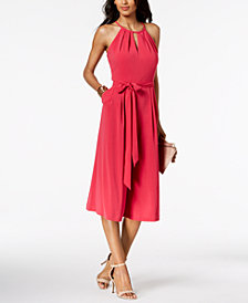Vince Camuto Sleeveless Cropped Jumpsuit
