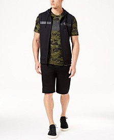 "Men's Sleeveless Hoodie, Mesh T-Shirt & 11"" Shorts, Created for Macy's"