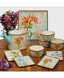 Certified International Herb Blossom Dinnerware
