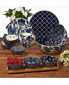 Blue Indigo Dinnerware