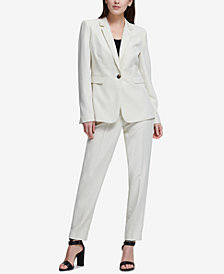 DKNY One-Button Jacket & Skinny Pants, Created for Macy's