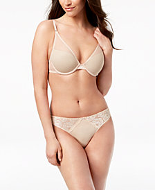 I.N.C. Sexy Lift Bra & Smooth Lace Thong, Created for Macy's