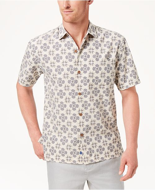a7b8298d82 Tommy Bahama Men's Toro Tiles Shirt; Tommy Bahama Men's Toro Tiles ...