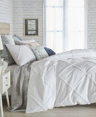 Home Chenille Lattice 2-Pc. Twin Comforter Set