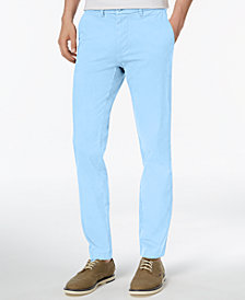Tommy Hilfiger Men's TH Flex Stretch Slim-Fit Chino Pants, Created for Macy's