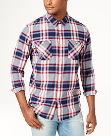 American Rag Men's Nathan Plaid Shirt, Created for Macy's