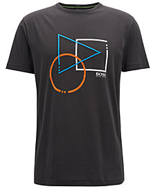 BOSS Men's Regular/Classic-Fit Cotton Graphic T-Shirt