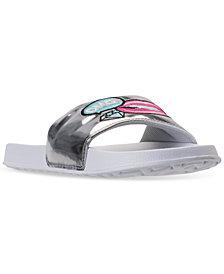 Bare Traps Girls' Lindsay Slide Sandals from Finish Line