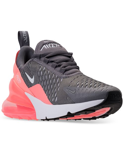 50d6db547b1 Nike Girls  Air Max 270 Casual Sneakers from Finish Line   Reviews ...