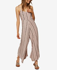 O'Neill Juniors' Jules Printed Sleeveless Jumpsuit