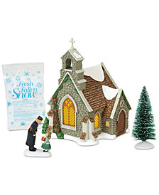 Department 56 Villages Isle Of Wight Chapel