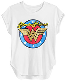 DC Comics Big Girls Wonder Woman T-Shirt