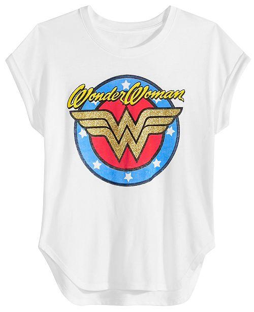 256bd0a1 DC Comics Big Girls Wonder Woman T-Shirt & Reviews - Shirts ...