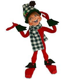 Annalee Red Median Northwoods Elf