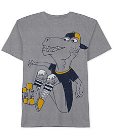 Jem Little Boys Dinosaur Graphic-Print T-Shirt
