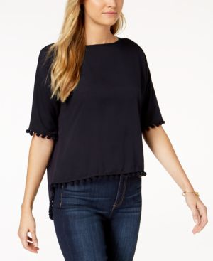 French Connection Pom Pom Top 6083753