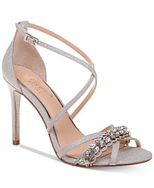 Jewel Badgley Mischka Gisele Evening Sandals