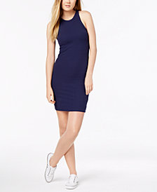 Calvin Klein Jeans Ribbed Tank Dress