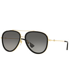 Gucci Sunglasses, GG0062S 57