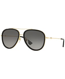 Gucci Polarized Sunglasses , GG0062S 57