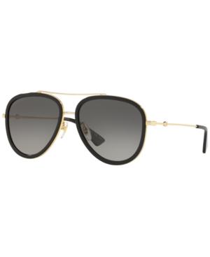 Image of Gucci Polarized Sunglasses, GG0062S 57