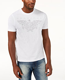 Sean John Men's Mini-Stud Eagle T-Shirt