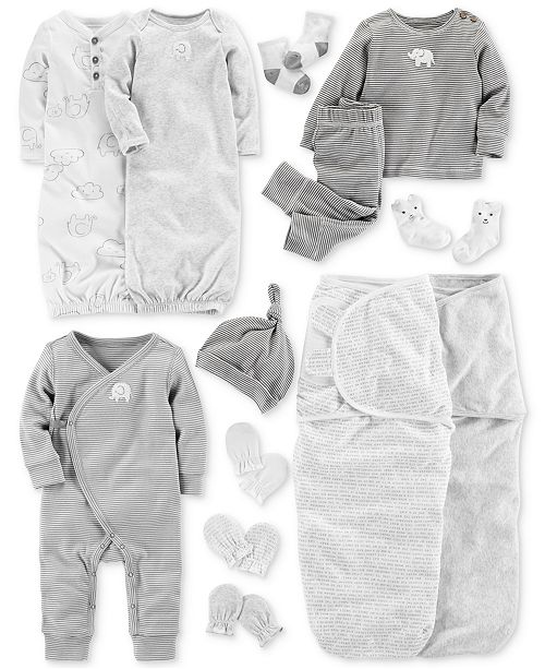 2476edb46d76 Carter s Baby Elephant-Print Layette Separates   Reviews - Sets ...