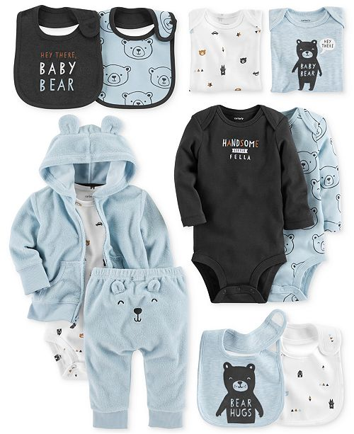 a5ec0fea0 Carter's Baby Boys Bear Layette Separates & Reviews - Sets & Outfits ...