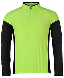 Men's Colorblocked Long-Sleeve Cycling Jersey from Eastern Mountain Sports
