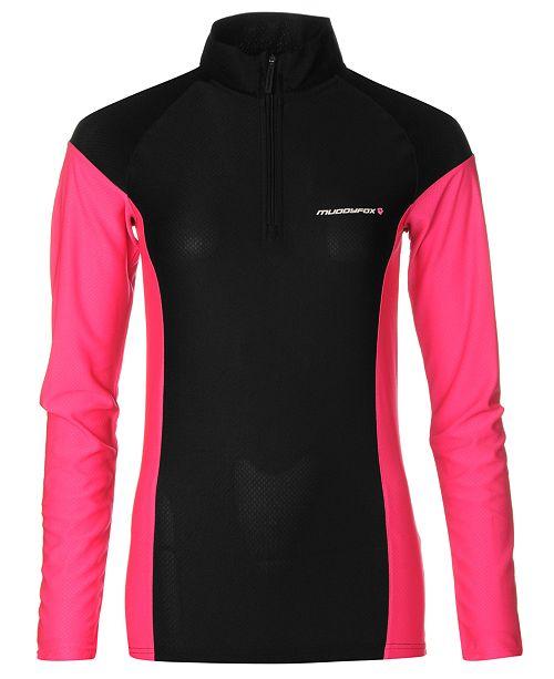 MUDDYFOX Women's Colorblocked Long-Sleeve Cycling Jersey from Eastern Mountain Sports
