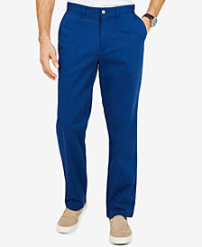 Nautica Men's Flat-Front Deck Pants