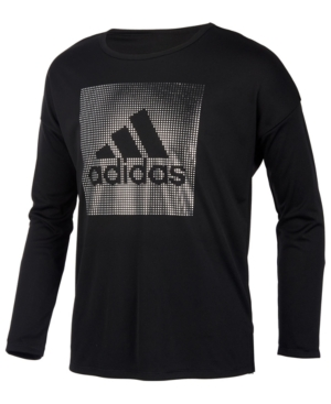 adidas Little Girls LogoPrint TShirt