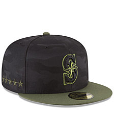 New Era Seattle Mariners Memorial Day 59FIFTY FITTED Cap