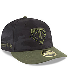 New Era Minnesota Twins Memorial Day Low Profile 59FIFTY FITTED Cap