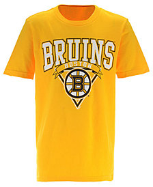 Outerstuff Boston Bruins Banner Season T-Shirt, Big Boys (8-20)