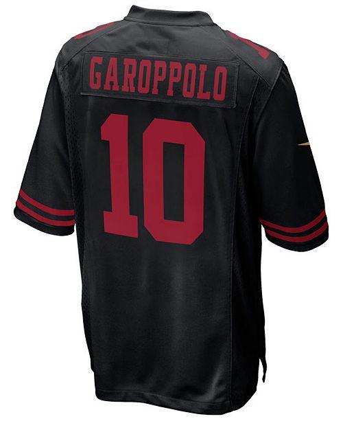 buy online 6eeca f7554 Jimmy Garoppolo San Francisco 49ers Game Jersey, Big Boys (8-20)