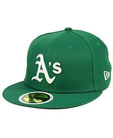 Boys' Oakland Athletics Authentic Collection 59FIFTY FITTED Cap