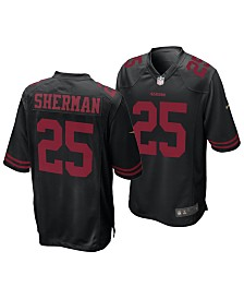 Nike Men's Richard Sherman San Francisco 49ers Game Jersey