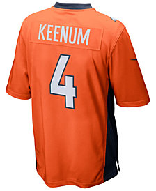 Nike Men's Case Keenum Denver Broncos Game Jersey