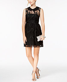 Nanette by Nanette Lepore Embroidered Collar Dress