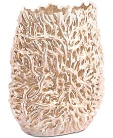 Pearl Short Vase Gold
