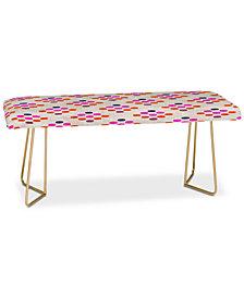Deny Designs Holli Zollinger Diamond Weave Bench