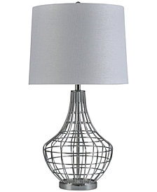 Stylecraft Chrome Metal Table Lamp