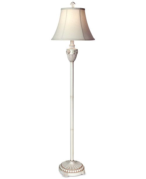 Product Details Refresh Small Es With The Calming Coastal Styling Of Seashell Floor Lamp